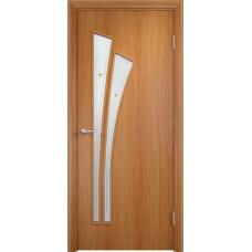 Дверь ламинированная Verda C-07 ДОФ Миланский орех