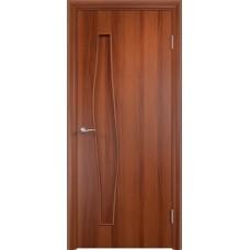 Дверь ламинированная Verda C-10 ДГ Итальянский орех