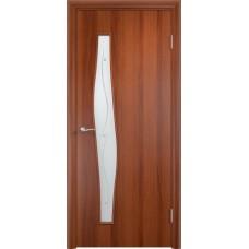 Дверь ламинированная Verda C-10 ДОФ Итальянский орех