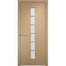 Дверь ламинированная Verda C-12 ДО Беленый дуб АЙС