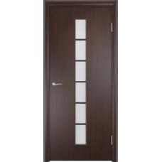 Дверь ламинированная Verda C-12 ДО Венге