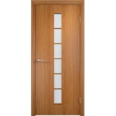 Дверь ламинированная Verda C-12 ДО Миланский орех