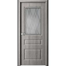 Дверь ламинированная Verda Каскад ДО Дуб филадельфия Грей