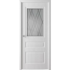Дверь ламинированная Verda Каскад ДО Белый ясень