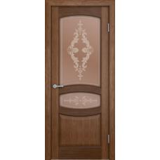 Дверь шпонированная Verda Сиена ДО Орех