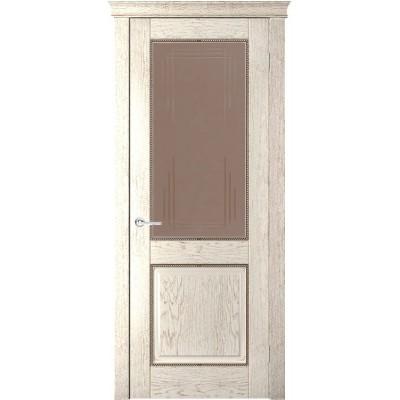 Дверь шпонированная Verda Прайм ДО тон капучино