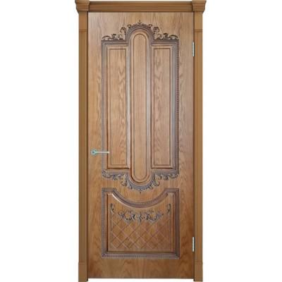 Дверь шпонированная Verda Муар ДГ Орех Натуральный-2