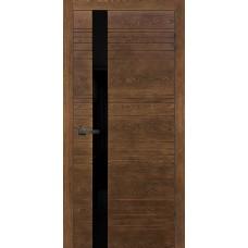 Дверь шпонированная Verda Сити-1 ДО(Ч) орех-2