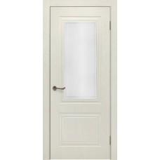 Дверь шпонированная Verda Сити-5 ДО эмаль RAL 9001 крем
