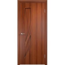 Дверь ламинированная Verda C-02 ДГ Итальянский орех