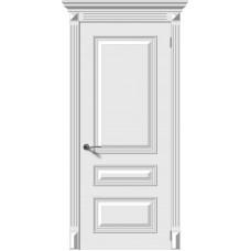 Дверь эмаль Verda Багет-3 ДГ Белый