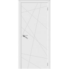Дверь эмаль Verda Вектор ДГ Белый