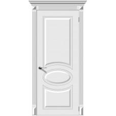 Дверь эмаль Verda Джаз ДГ Белый