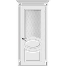 Дверь эмаль Verda Джаз ДО Белый