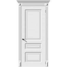 Дверь эмаль Verda Трио ДГ Белый