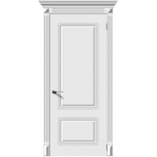 Дверь эмаль Verda Ноктюрн ДГ Белый