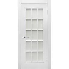 Дверь эмаль Verda Британия-1 ДО Белый