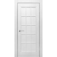 Дверь эмаль Verda Британия-1 ДГ Белый