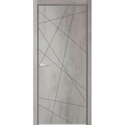 Дверь эмалит Verda Севилья 26 Бетон светлый