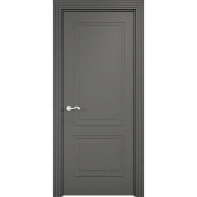 Дверь эмалит Verda Париж 1 Софт Графит