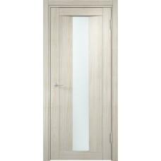 Дверь экошпон Verda Casaporte Сицилия 02 беленый дуб мелинга стекло белое
