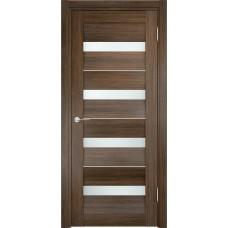 Дверь экошпон Verda Casaporte Сицилия 12 венге мелинга стекло белое
