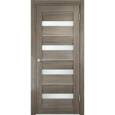 Дверь экошпон Verda Casaporte Сицилия 12 вишня малага стекло белое