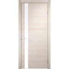 Дверь экошпон Verda Casaporte Турин 03 дуб бежевый вералинга ст. белое