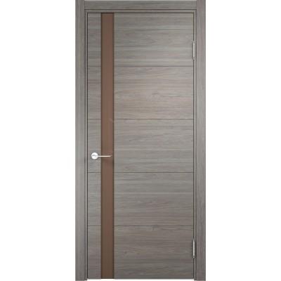 Дверь экошпон Verda Casaporte Турин 03 дуб шервуд вералинга ст. мокко