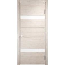 Дверь экошпон Verda Casaporte Турин 05 дуб бежевый вералинга ст. белое