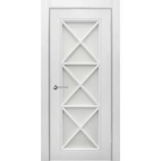 Дверь эмаль Verda Британия-2 ДО Белый