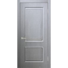 Дверь экошпон Verda Роял 2 ДГ Серый