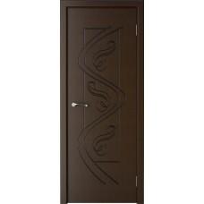 Дверь шпонированная Verda Вега ДГ венге