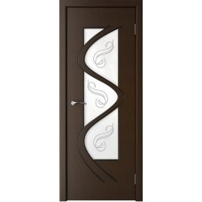 Дверь шпонированная Verda Вега ДО венге