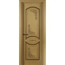 Дверь шпонированная Verda Муза ДГ дуб