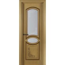 Дверь шпонированная Verda Муза ДО дуб