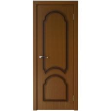 Дверь шпонированная Verda Соната ДГ орех
