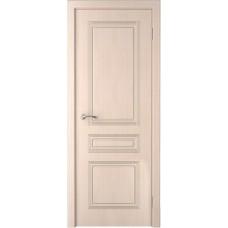 Дверь шпонированная Verda Стиль ДГ беленый дуб