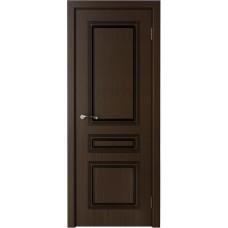 Дверь шпонированная Verda Стиль ДГ венге