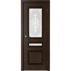 Дверь шпонированная Verda Стиль ДО венге
