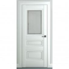 Дверь экошпон ZADOOR Ампир В1 ДО Матовый белый