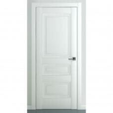Дверь экошпон ZADOOR Ампир В2 ДГ Матовый белый