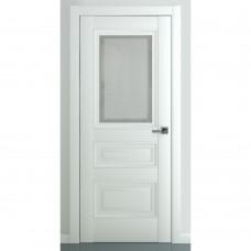 Дверь экошпон ZADOOR Ампир В2 ДО Матовый белый