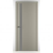 Дверь экошпон ZADOOR A2 ABS ДО Светло-серый