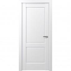 Дверь экошпон ZADOOR Classic S Венеция ДГ Матовый белый