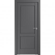Дверь экошпон ZADOOR Classic S Венеция ДГ Матовый серый