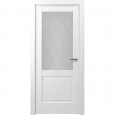 Дверь экошпон ZADOOR Classic S Венеция ДО Матовый белый