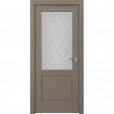 Дверь экошпон ZADOOR Classic S Венеция ДО Матовый серый