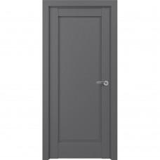 Дверь экошпон ZADOOR Classic S Неаполь ДГ Матовый серый