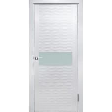 Дверь эмаль ZADOOR D2 Бриз ДО эмаль белая